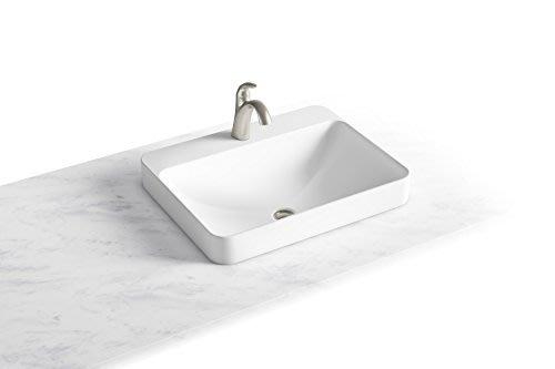 浴室的專家 *御舍精品衛浴 KOHLER Forefront 拂朗系列 方圓形上崁盆 時尚臉盆 K-2660X
