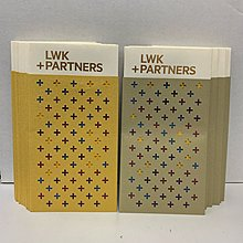 LWK + Partners 藝術創意兩件套燙金印刷長款利是封長方形紅封包 30個
