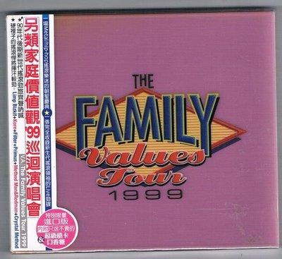 [鑫隆音樂]另類家庭價值觀99巡迴演唱會The family values tour 1999(特別限量進口版) 全新