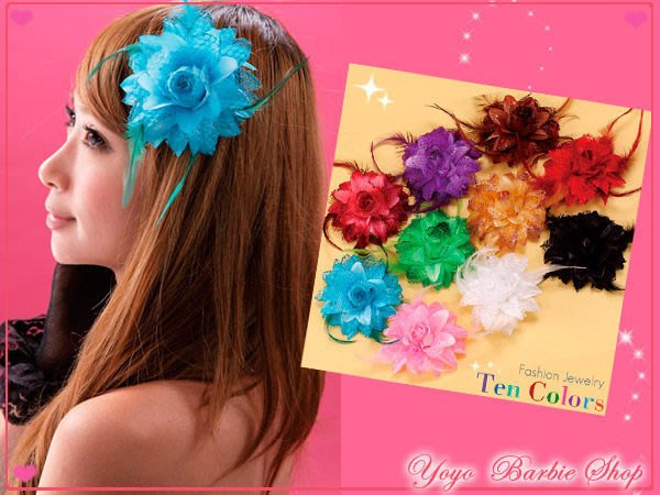 【YOYO芭比小舖】P-087 貴族風花系列髮飾|專賣角色扮演服及道具