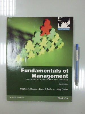 6980銤:A18-4de☆2013年出版『Fundamentals of Management 8/e』PEARSON