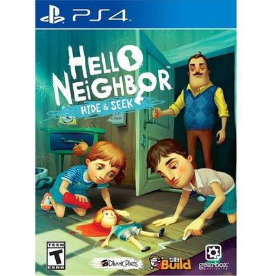 (現貨全新) PS4 你好 鄰居 捉迷藏 中英日文美版 Hello Neighbor Hide and Seek