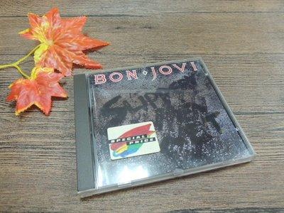 Q2001-二三十年前二手CD】BON JOVI邦·喬飛-SLIPPERY WHEN WET難以捉摸-You give