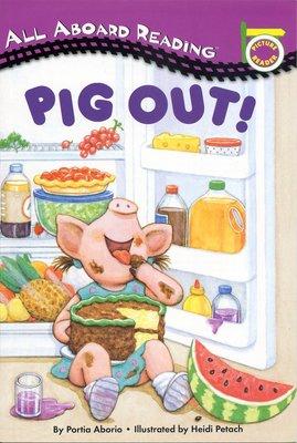 *小貝比的家*PIG OUT! [汪培珽英文書單]/平裝/3~6歲/第一階