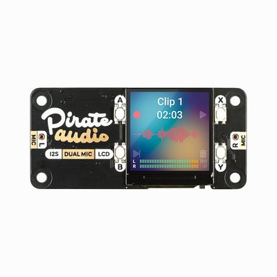 Pirate Audio: Dual Mic for RPi