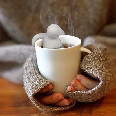 全新美國fred新品Mr.Tea 茶先生 泡澡小人泡茶器 食品級耐高溫泡茶器