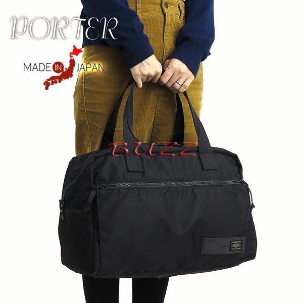 巴斯 日標PORTER屋- 黑色預購 PORTER RAYS 2WAY手提-肩背波士頓包 831-05247