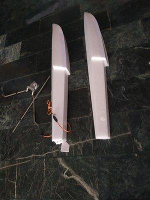 《TS同心模型》 FMS 1220mm守護者 的 水腳、浮筒含(鐵架、五金、螺絲、伺服機、水中舵)