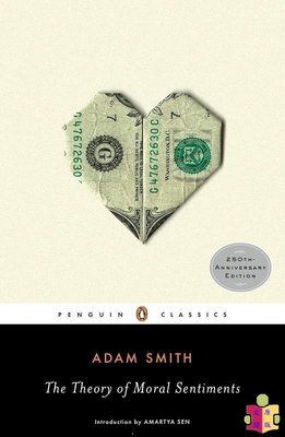 [文閲原版]道德情操論 英文原版 Theory of Moral Sentiments Adam Smith Penguin