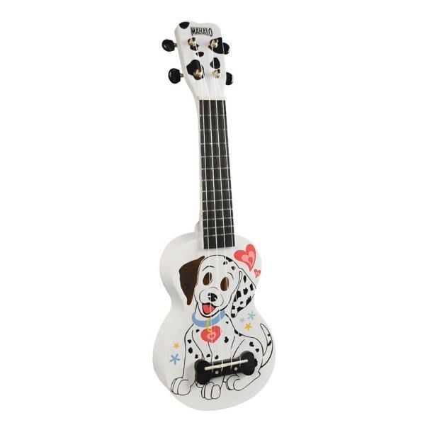 【六絃樂器】全新 Mahalo Dalmation white ukulele 21吋烏克麗麗 / 現貨特價