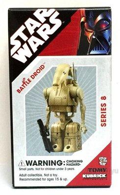 特價 全新Medicom 100% Kubrick Star Wars Series 8 Battle Droid