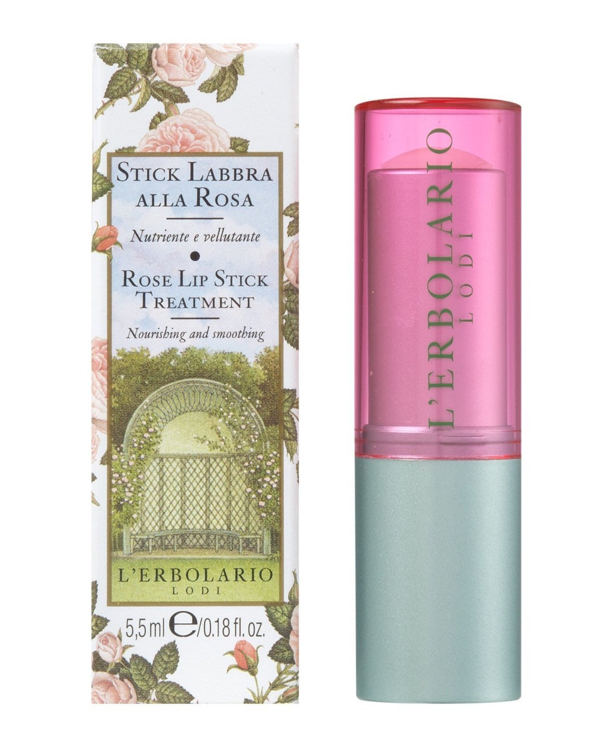 蕾莉歐 L'ERBOLARIO 玫瑰保濕護唇膏 5.5ml ~ 高市可面交