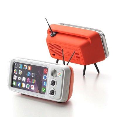 西營盤$150 Retroduck 復古電視風iphone手機座 Retro-Style iPhone Dock smartphone stand