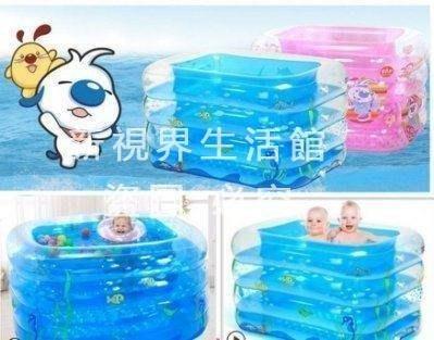 【新視界生活館】嬰兒遊泳池充氣保溫嬰幼...