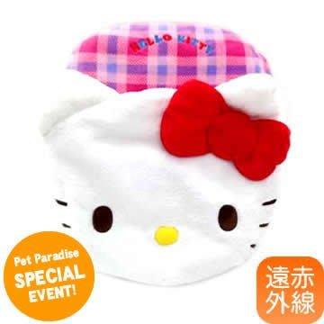 貝果貝果    日本 pet paradise 代理 kitty 保暖造型立體睡袋 [L180]