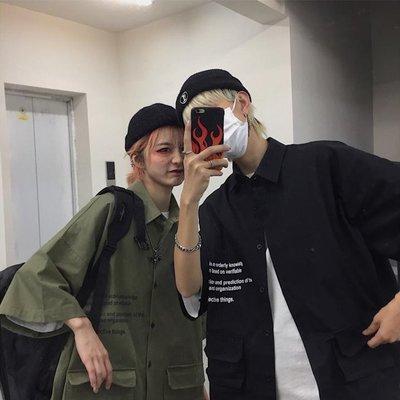 東家style 19ss韓國復古簡約字...