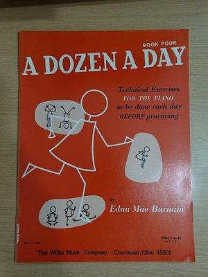 A Dozen a day book 4, The willis music company 出版(英文版),學琴教鋼琴 piano books