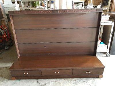 彰化二手貨中心(原線東路二手貨) ---胡桃木設計 電視櫃