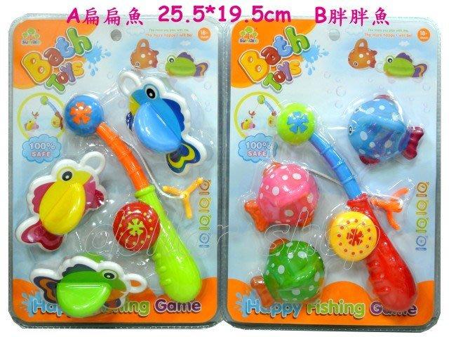 寶貝玩具屋二館☆【寶寶】超可愛胖胖Q版寶寶彩色釣魚組(洗澡玩具)