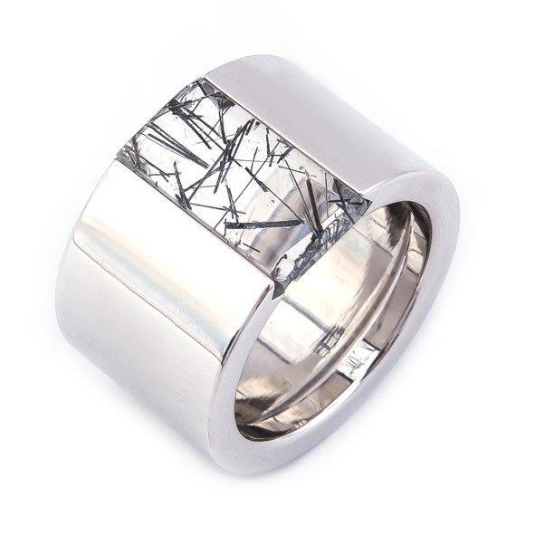 【JHT 金宏總珠寶/GIA鑽石專賣】Cartier造型男戒/材質:18K(JB35-A35)