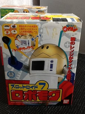 玩具魂`BANDAI出品`日本製小露寶系列之七號廚師機器人`1999年收藏品`少見美品`絕版貨