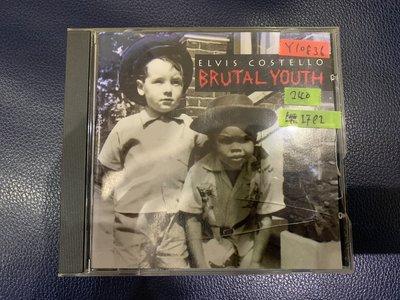 *還有唱片行*ELVIS COSTELLO / BRUTAL YOUTH 二手 Y10836
