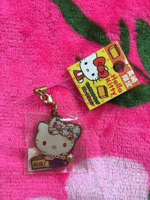 Sanrio Hello Kitty 日本地域限定 長崎 紫色 電話繩 Mobile Cell Phone Strap Charm Mascot 290101