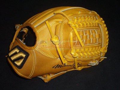 貳拾肆棒球-珍藏品日本帶回Mizuno pro硬式用特別訂製投手手套 trial version -。日製