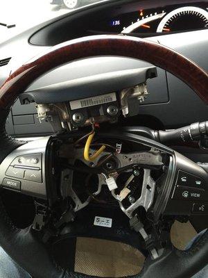 明耀汽車~豐田 2006~2020 PREVIA 方向盤控制鍵(鋼琴黑烤漆)
