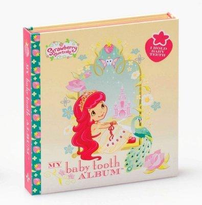 美國原裝進口 Baby Tooth ALBUM 乳齒保存盒 乳牙保存盒 乳牙盒 乳齒盒_草莓妹