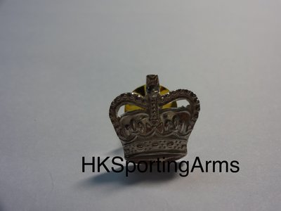 皇家警察警司 '皇冠頭' 銀章 RHKP Superintendent 'Crown' Metal Badge/Pin