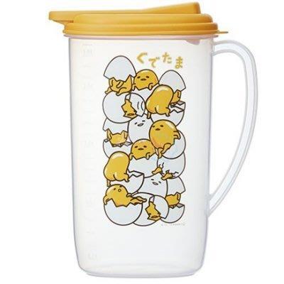 《東京家族》日本帶回 蛋黃哥 冷水筒 水壺 1.9L