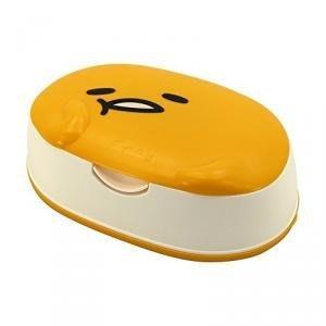 日本製 日本製 蛋黃哥 造型濕紙巾盒 80枚/入 ✪棉花糖美妝香水✪