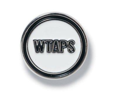 2018AW WTAPS CIRCLE / BADGE. STEEL 別針 圓徽章 西山徹