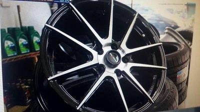 全新17吋5*114.3黑色車面鋁圈~馬3 馬5 K12 CT200H GS300 LUXGEN CAMRY TEANA 新北市