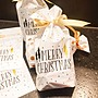 銀白聖誕節束口袋23.5*14.8*底宽6cm糖果袋一個8元喜糖袋 餅幹袋 巧克力包裝袋,飾品袋禮品袋~幸福生活館