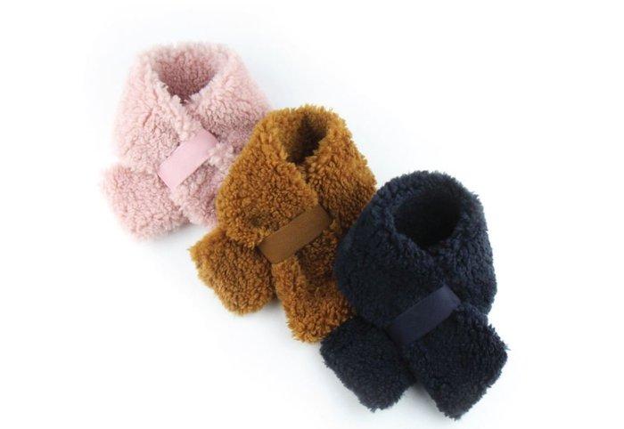 貝果貝果  韓國 Petderella 羊羔絨保暖圍巾  [K1598]