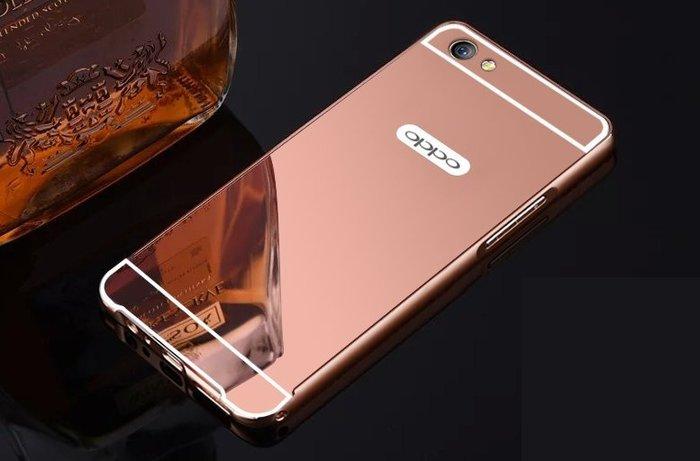 全新 鏡面手機殼 oppoR9s手機殼 R9s手機殼保護套0PP0r9s 全包金屬邊框st防摔k14