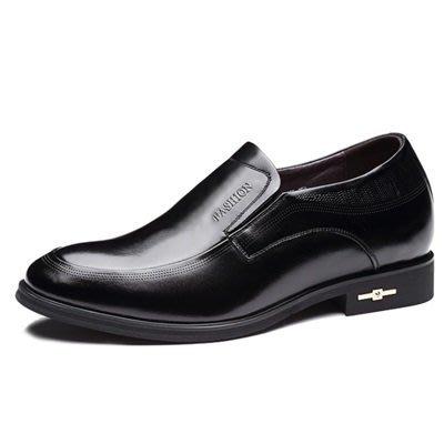 增高 鞋 真皮 皮鞋-商務時尚精選舒適男鞋子2色73pd28[獨家進口][米蘭精品]