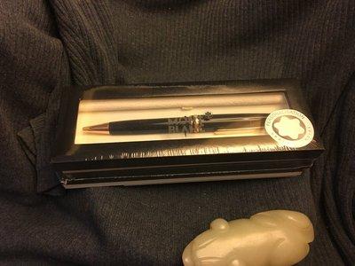 (已蒙 貴客購買) Montblanc 萬寶龍 小班金夾原子筆, 全新未拆封