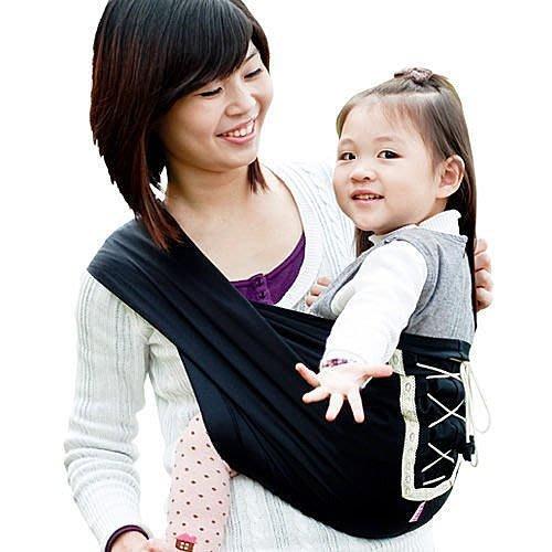 Una馬甲背巾~Vest sling更簡單、更親密、更時尚的無環哺乳揹巾☆╮星燦黑╭☆
