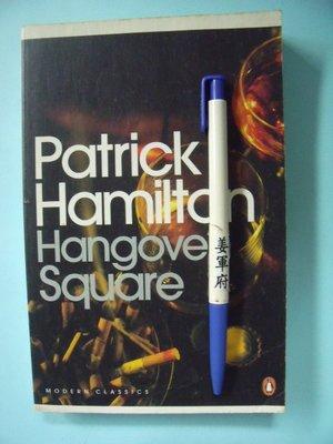 【姜軍府】《Hangover Square》英文小說!Patrick Hamilton PENGUIN BOOKS