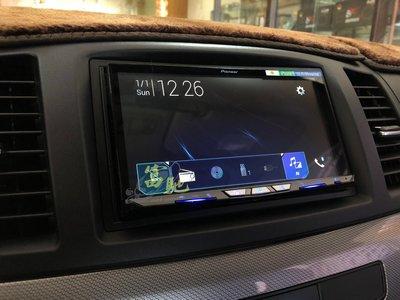中壢富馳汽車音響 三菱 FORTIS改裝 先鋒Pioneer AVH-Z9150BT 旗艦款WiFi 智慧車用影音主機