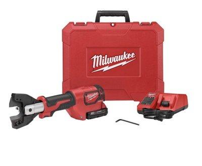 """""""工具醫院"""" M18HCC-0C Milwaukee/美沃奇 米沃奇 18V 充電式 電纜剪 電纜線機 6T油壓壓接機"""