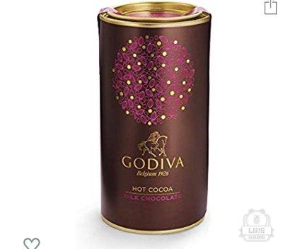 預購 美國專櫃GODIVA牛奶口味 可可粉 巧克力粉 熱可可