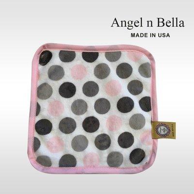 ☆°Angel n Bella.╯☆°【美國製】頂級時尚手帕-糖果粉 (糖果豆款)
