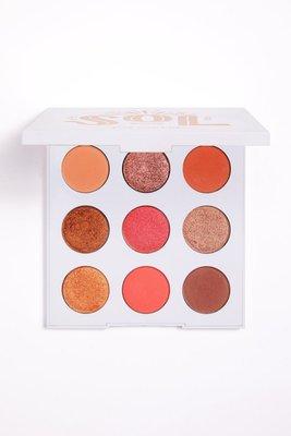 KRISTY美國代購 🇺🇸 Colourpop SOL 9色暖金橘系眼影盤