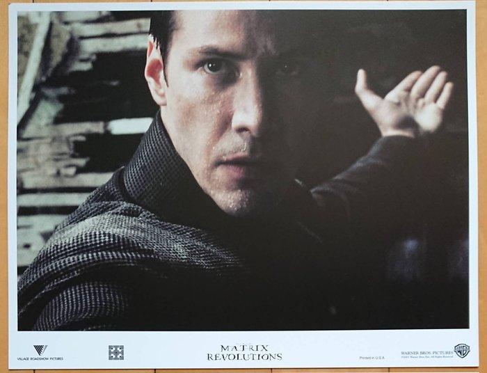 駭客任務完結篇:最後戰役 - 基努李維 Keanu Reeves - 美國原版電影劇照 (2003年)