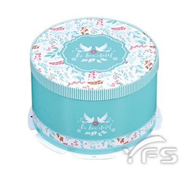 12吋圓形蛋糕盒(實裝10吋) (蛋糕紙盒/野餐盒/手提蛋糕盒/點心盒)