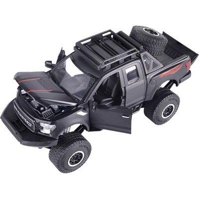 模型車 新福特猛禽F150玩具車模型仿真皮卡SUV合金車模型男孩玩具小汽車   全館免運
